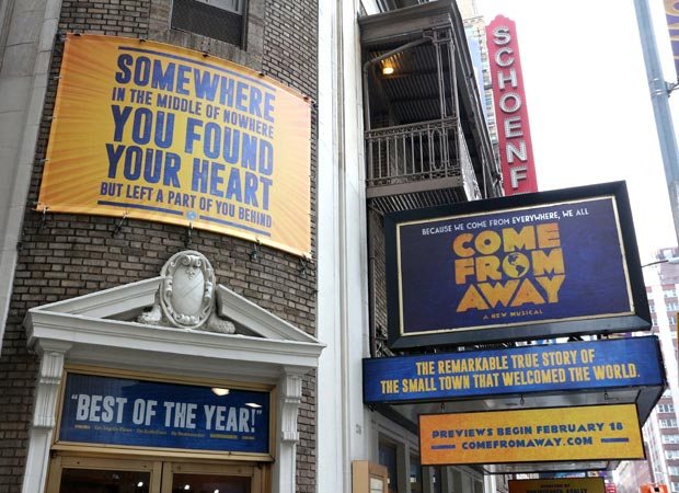 come from away tickets