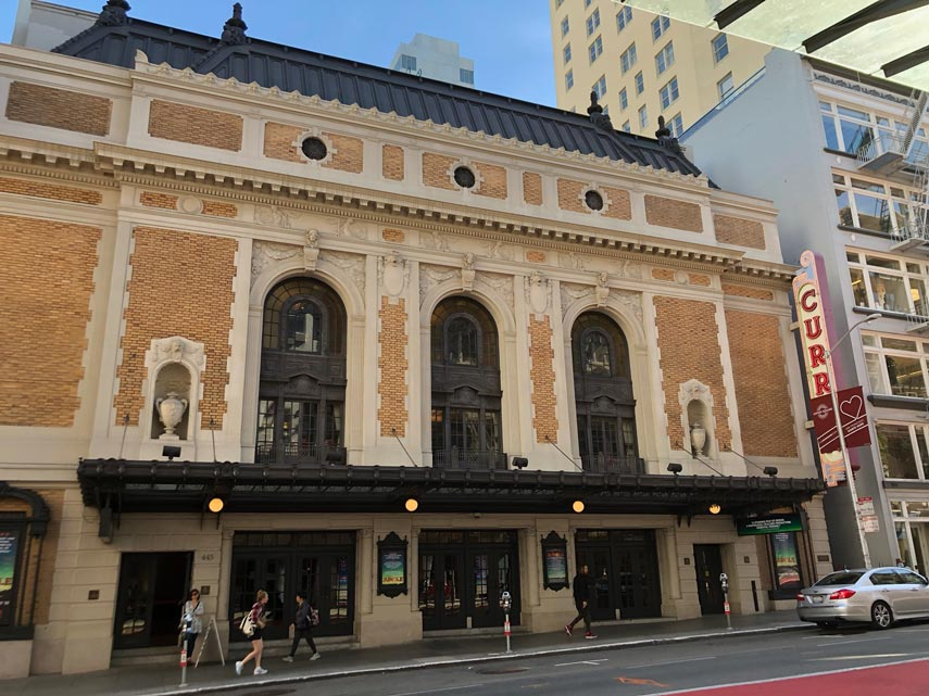 curran theatre tickets