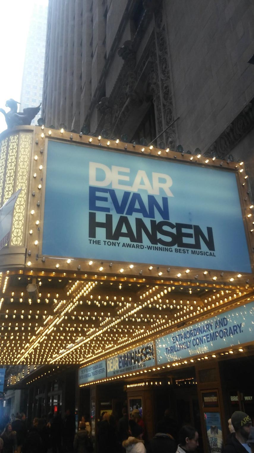 dear evan hansen tour locations