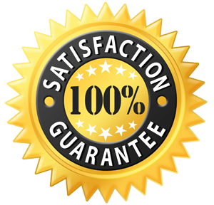 Find out more about our 100% Guarantee