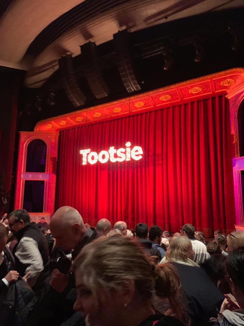 tootsie tickets broadway